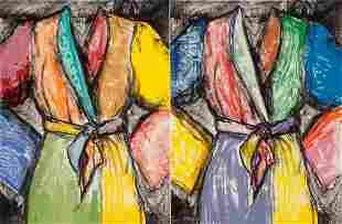 77049: Jim Dine (b. 1935) Double Dose of Color, 2009 Li