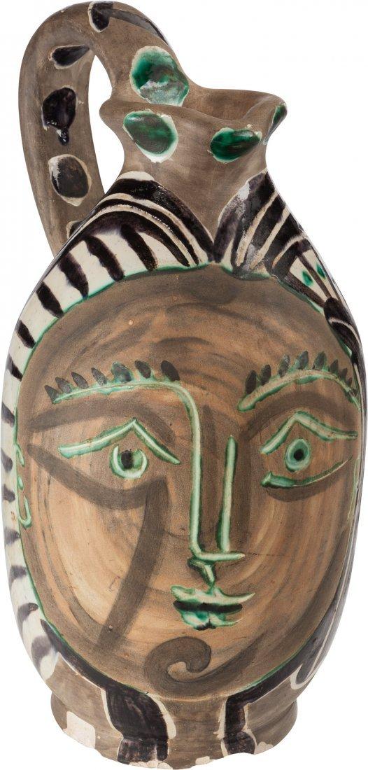 77173: Pablo Picasso (1881-1973) Femme du barbu, 1953 T