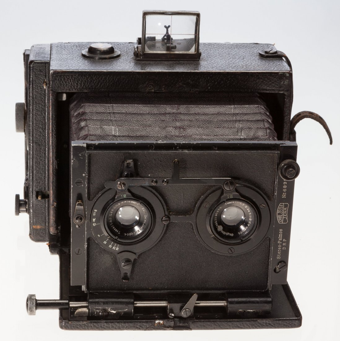 73009: Carl Zeiss Stereo Palmos Folding Plate Camera Ge