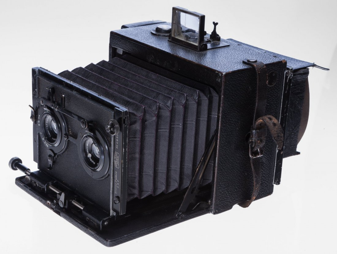 73009: Carl Zeiss Stereo Palmos Folding Plate Camera Ge - 3