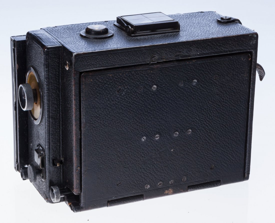 73009: Carl Zeiss Stereo Palmos Folding Plate Camera Ge - 4