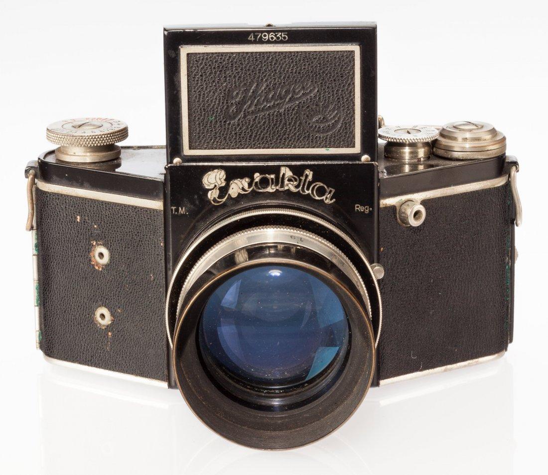 73016: Ihagee Night Exakta B SLR Camera German c. 1936,