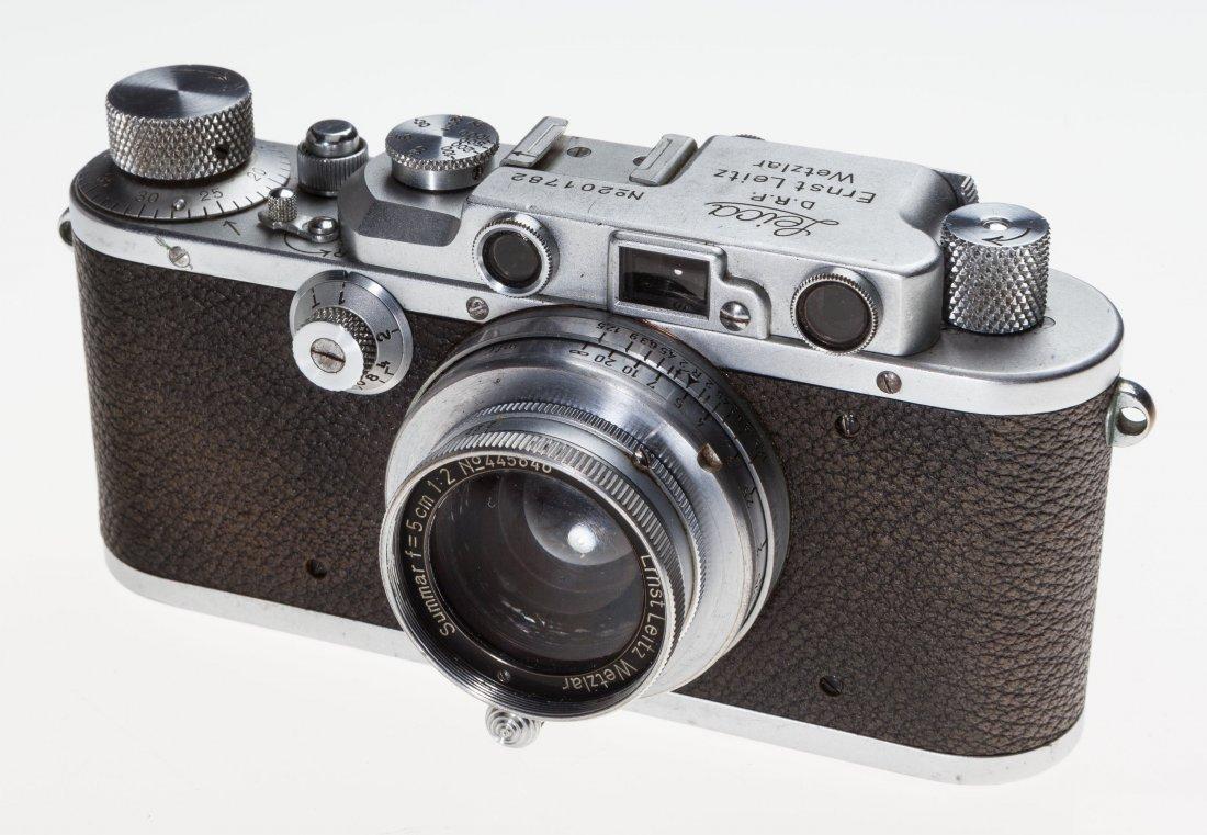 73020: Leica IIIa Rangefinder Camera German, 1936, No.