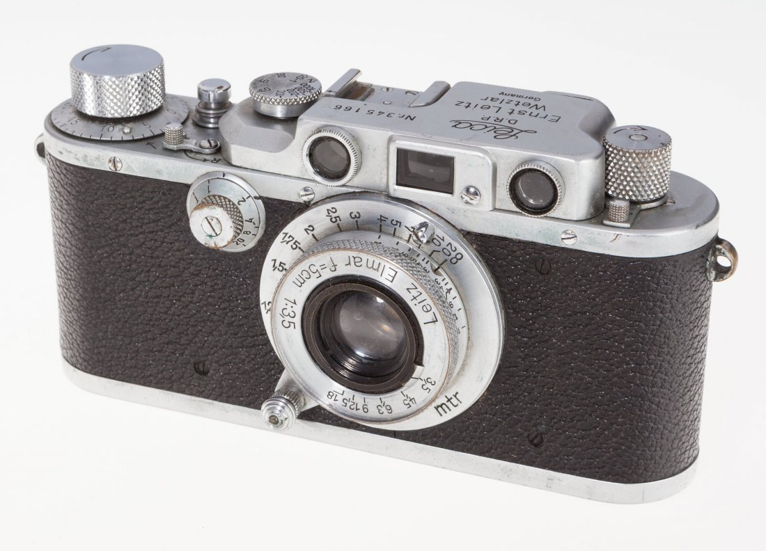 73021: Leica IIIb Rangefinder Camera German, 1939, No.