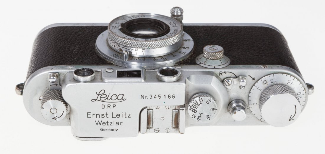 73021: Leica IIIb Rangefinder Camera German, 1939, No.  - 4