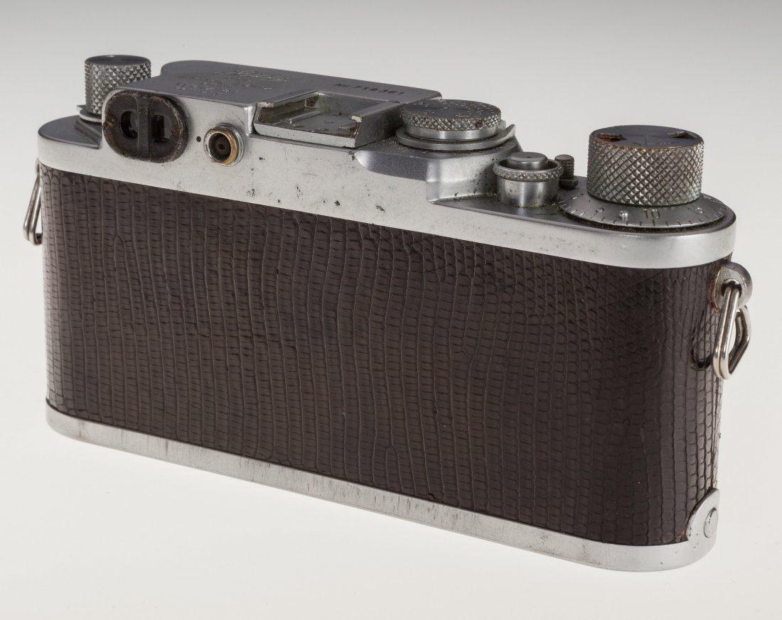73025: Leica IIIf Black Dial Rangefinder Camera German, - 5