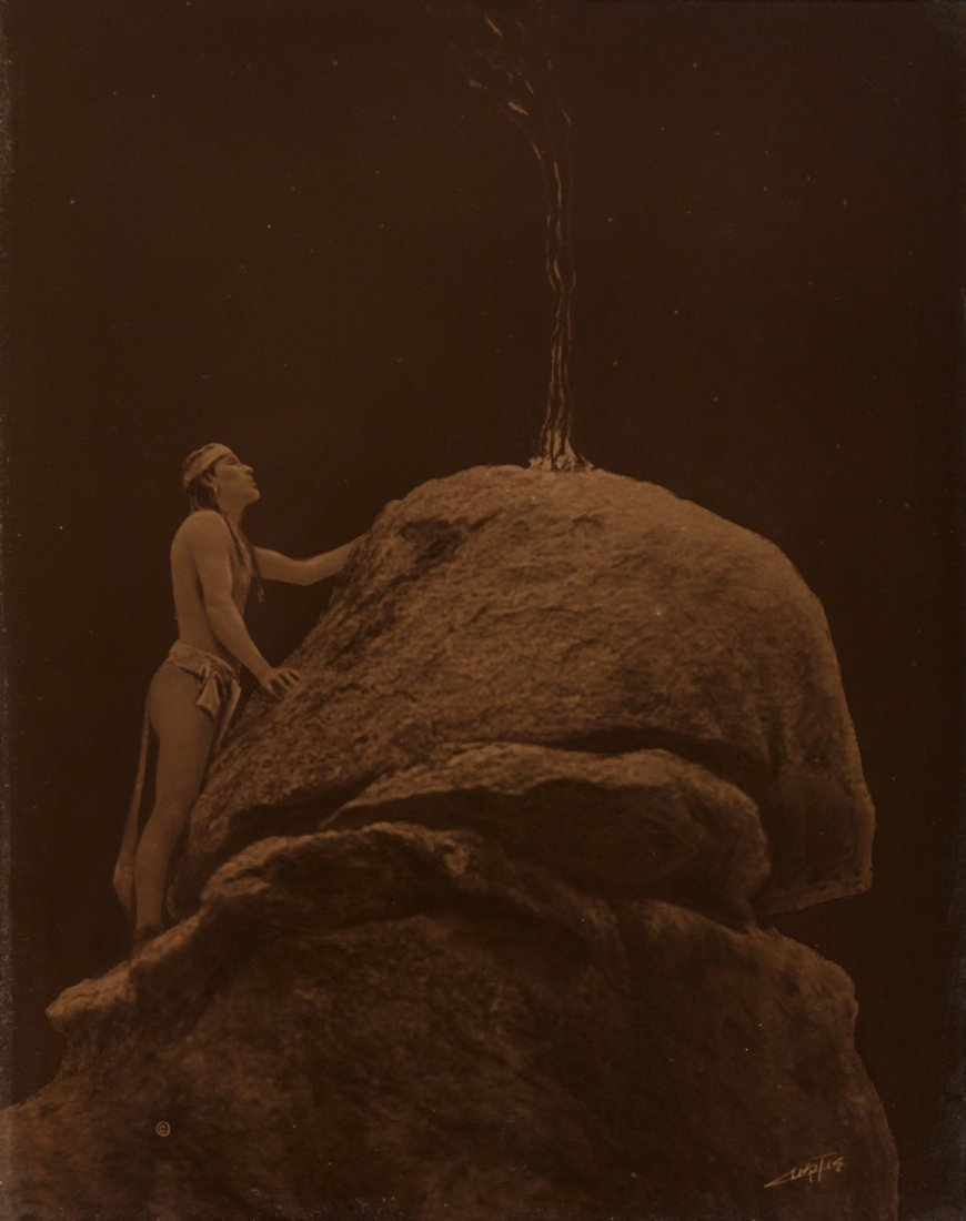 73127: Edward Sheriff Curtis (American, 1868-1952) Sign
