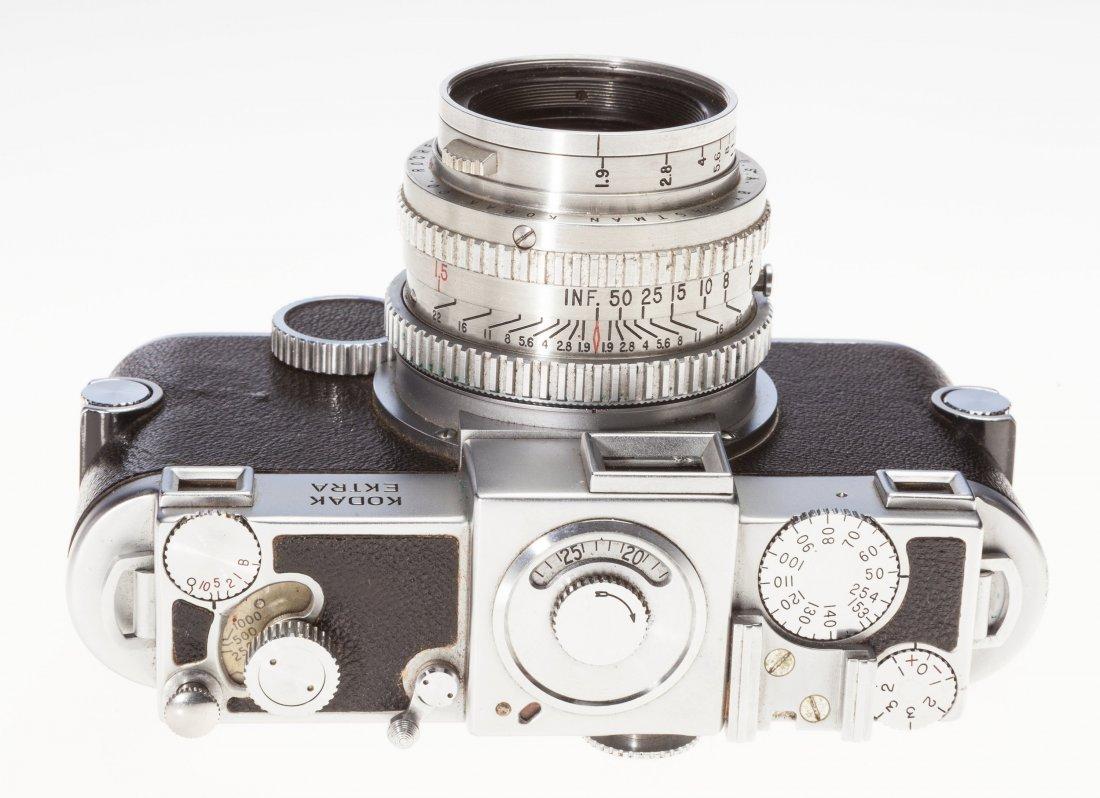 73031: Kodak Ektra Rangefinder Camera Outfit American,  - 3