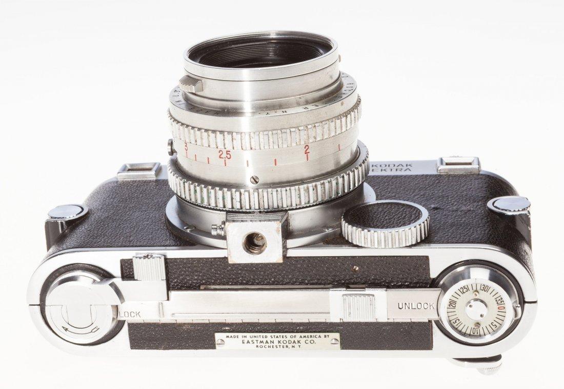 73031: Kodak Ektra Rangefinder Camera Outfit American,  - 4