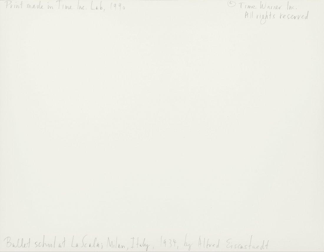 73339: Alfred Eisenstaedt (American, 1898-1995) Ballet  - 2