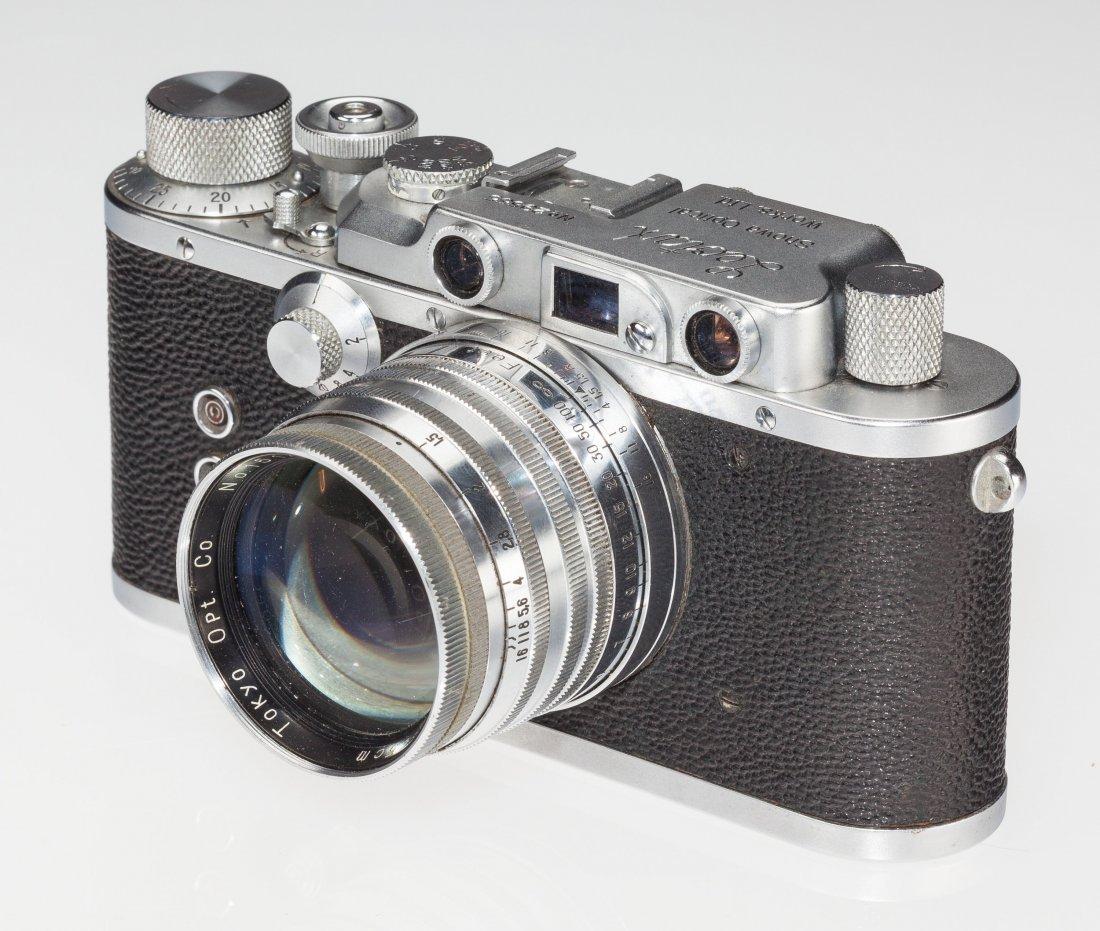 73036: Leotax S Rangefinder Camera Japanese, c. 1953, N