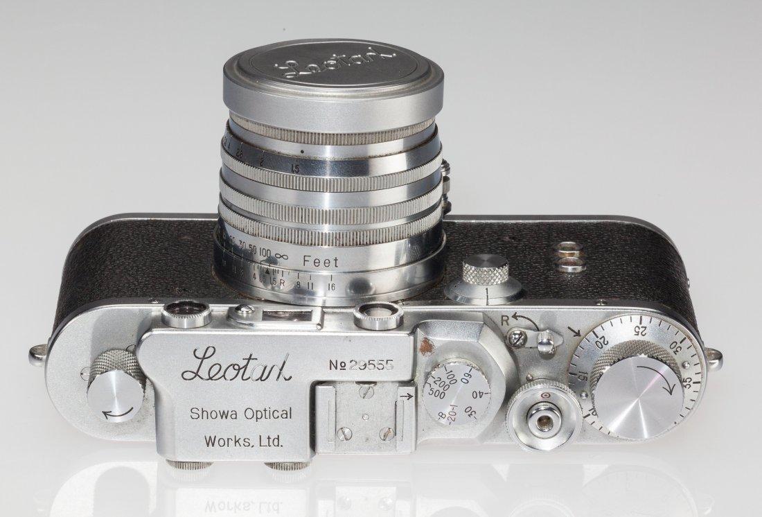 73036: Leotax S Rangefinder Camera Japanese, c. 1953, N - 3