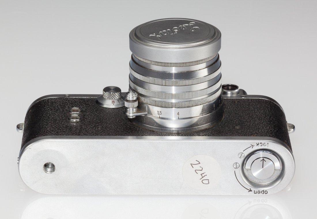 73036: Leotax S Rangefinder Camera Japanese, c. 1953, N - 4
