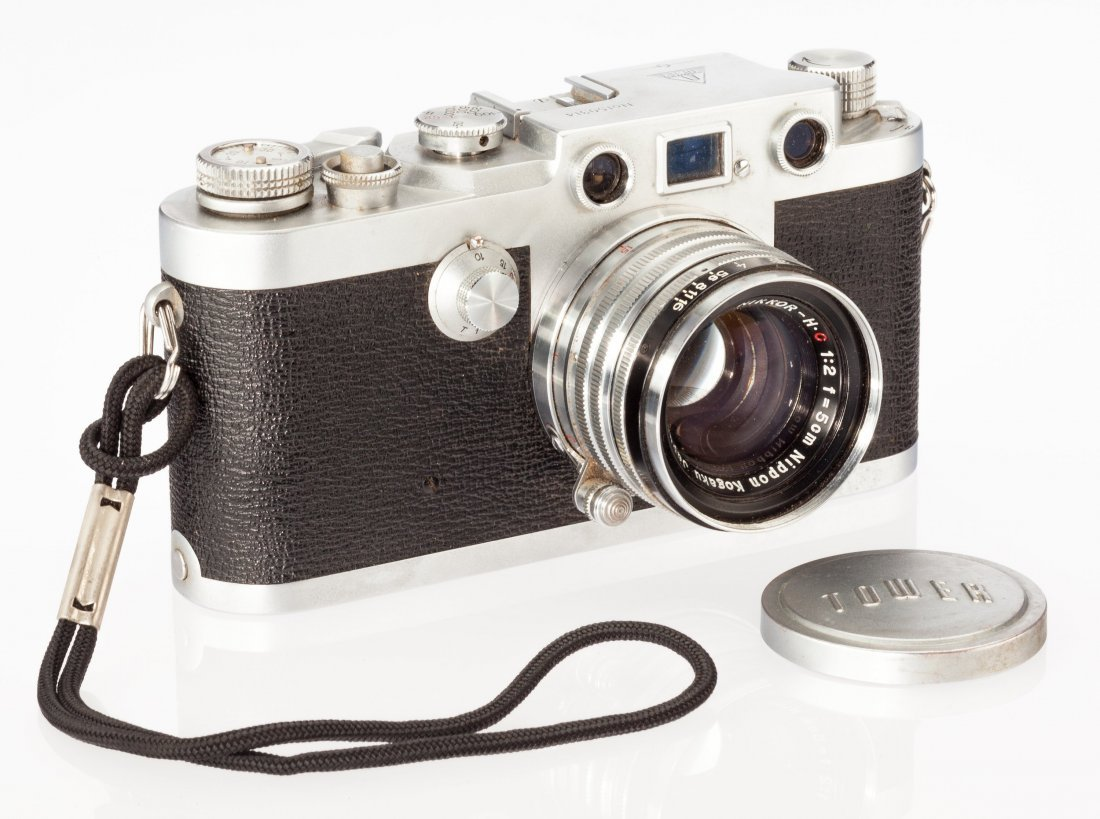 73039: Sears Tower 45 Rangefinder Camera Nicca Camera C