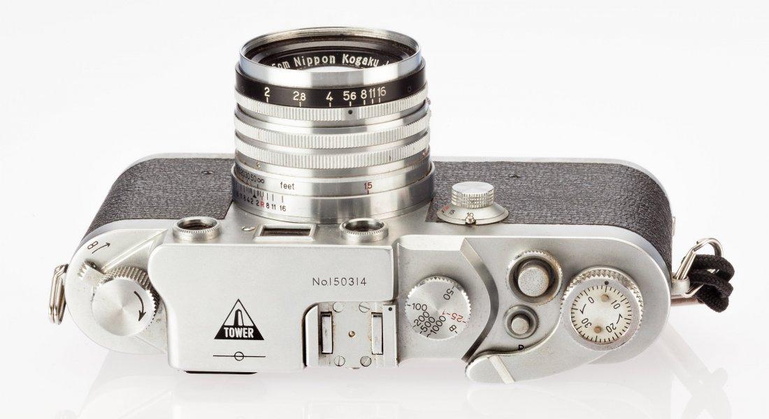 73039: Sears Tower 45 Rangefinder Camera Nicca Camera C - 4