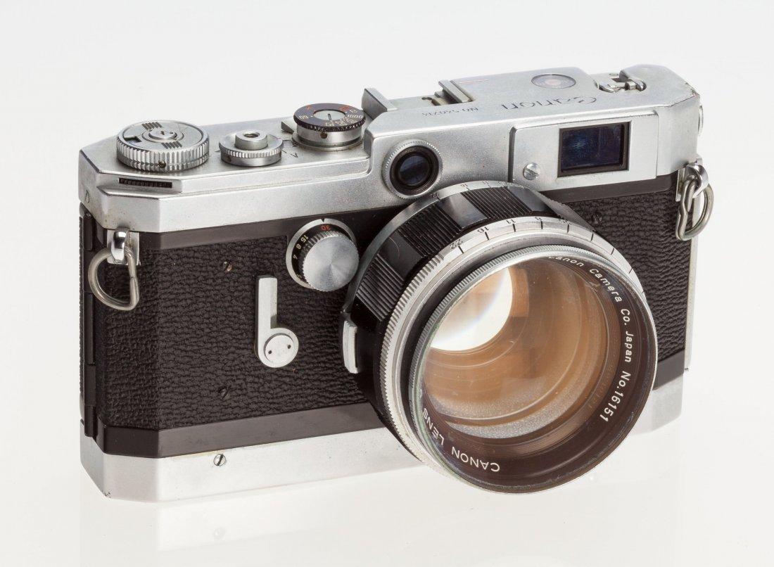 73046: Canon VT de luxe Rangefinder Camera Japanese, 19