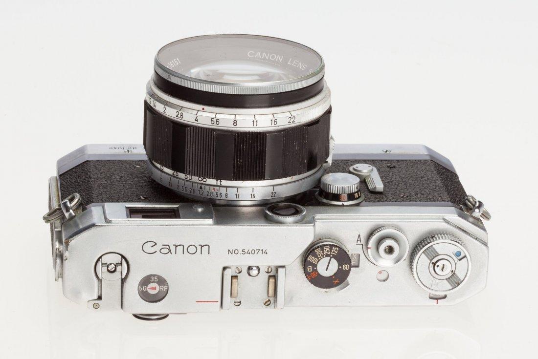 73046: Canon VT de luxe Rangefinder Camera Japanese, 19 - 4