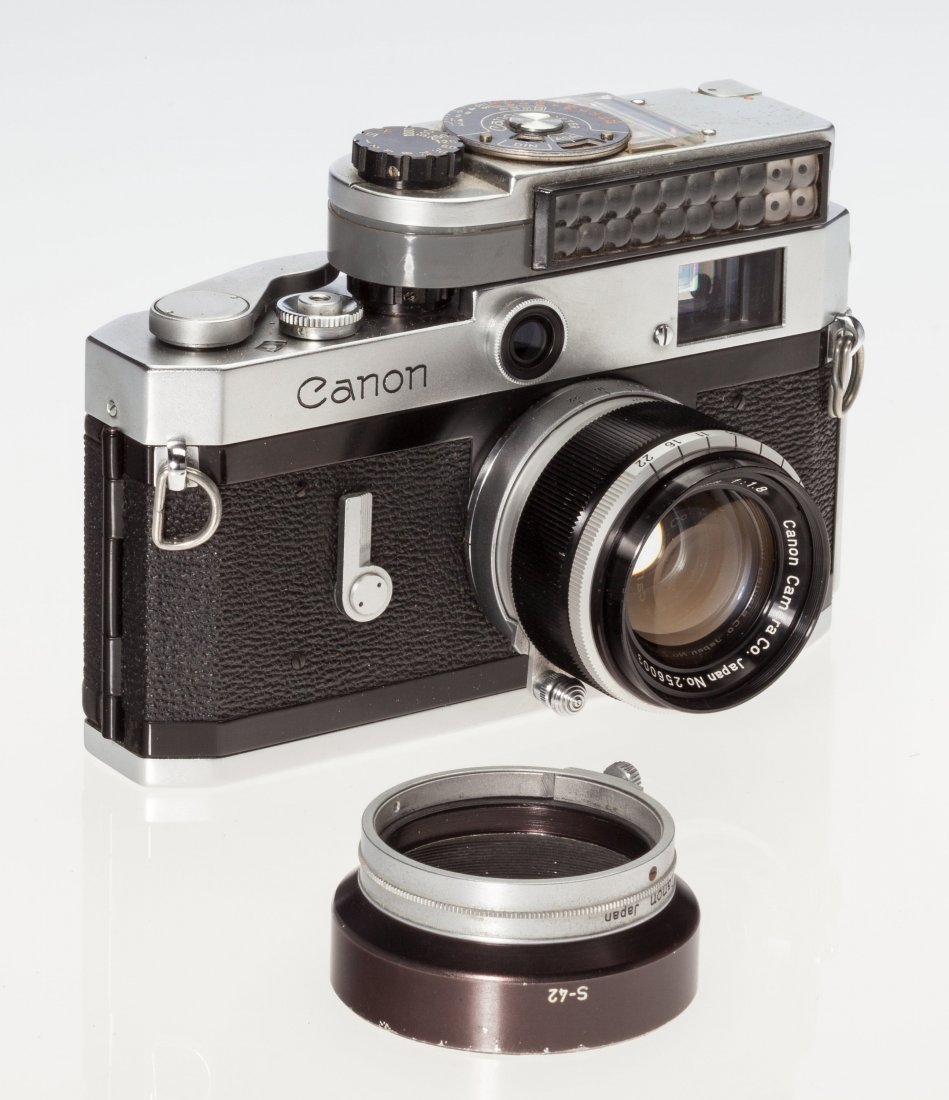 73047: Canon P Rangefinder Camera Japanese, c. 1960, No