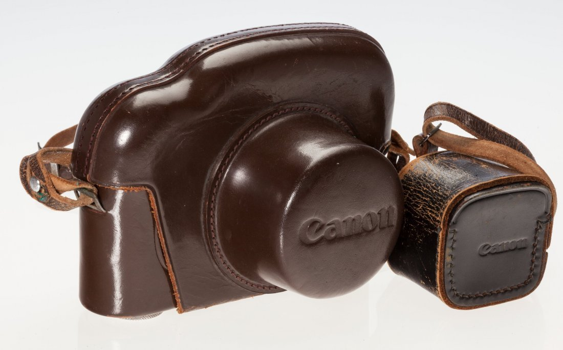 73047: Canon P Rangefinder Camera Japanese, c. 1960, No - 2