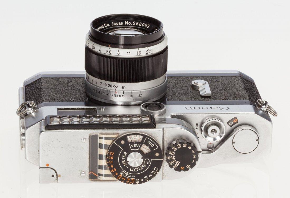 73047: Canon P Rangefinder Camera Japanese, c. 1960, No - 4