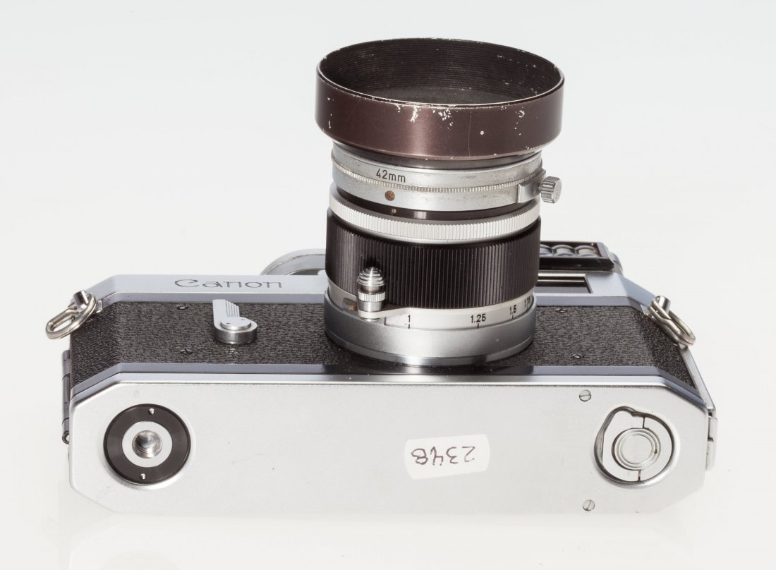73047: Canon P Rangefinder Camera Japanese, c. 1960, No - 5