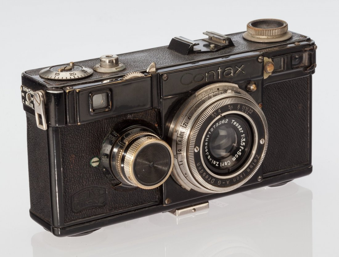 73051: Zeiss Contax I(e) Rangefinder Camera German, 193