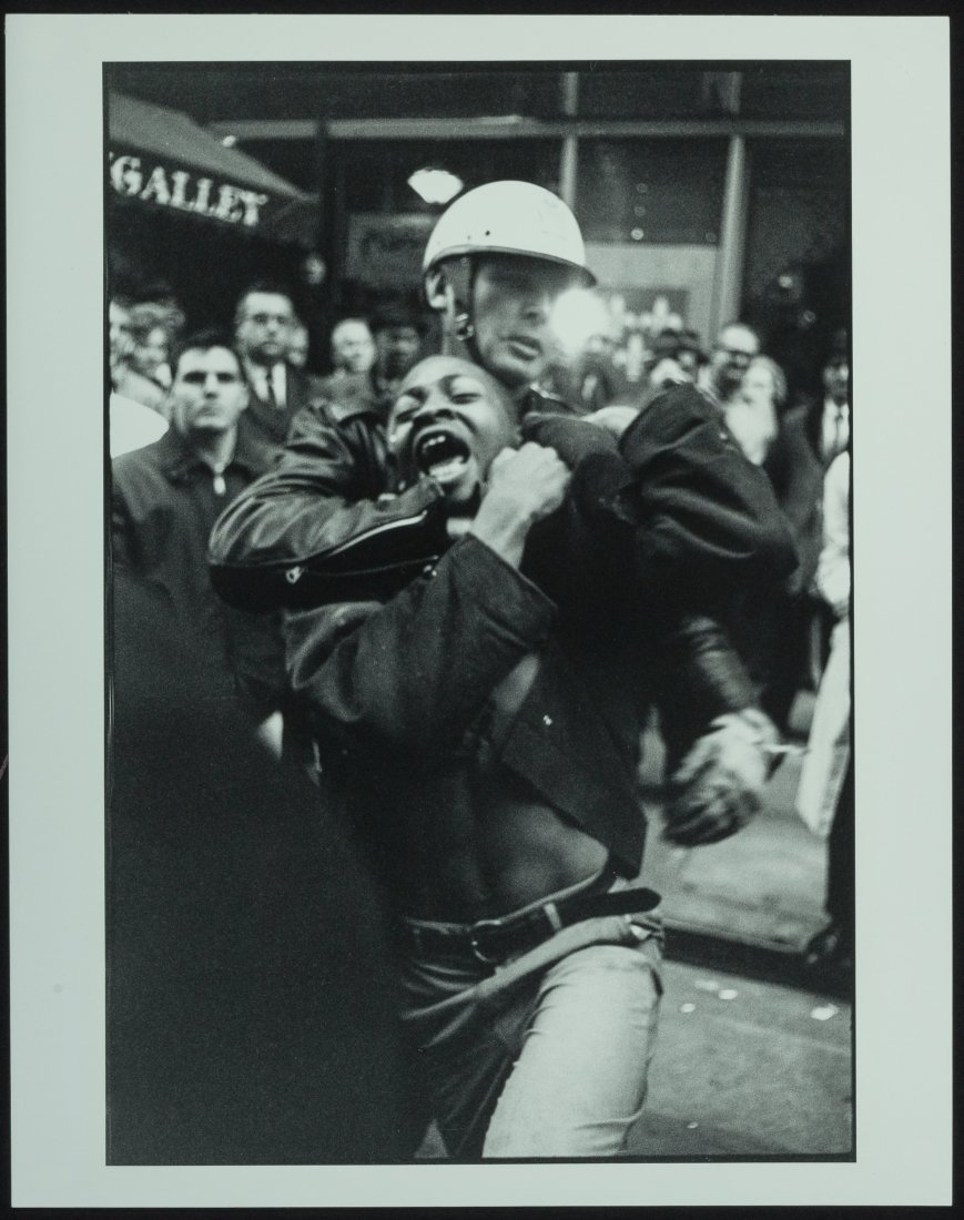 73371: Danny Lyon (American, b. 1942) Arrest of Taylor  - 2
