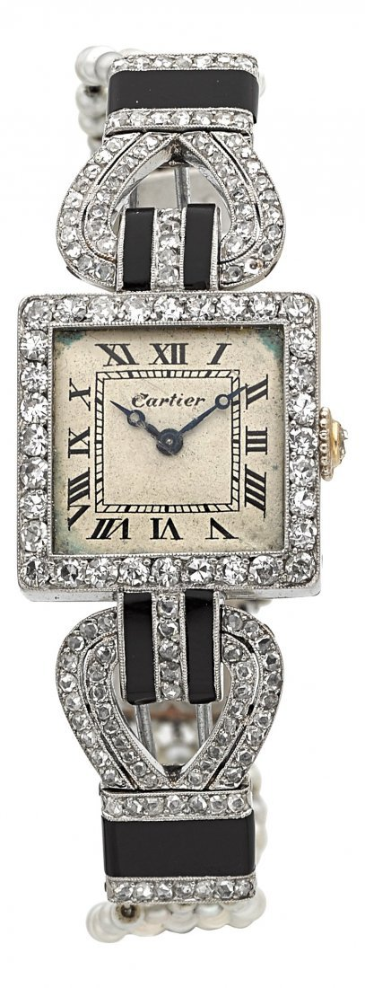 54001: Cartier, European Watch & Clock Co. Exceptional