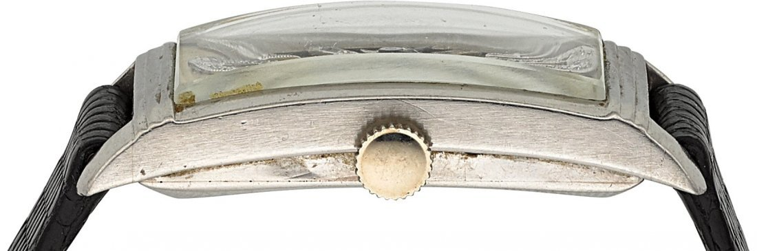 54010: Longines Platinum Diamond Dial Wristwatch  Case: - 2