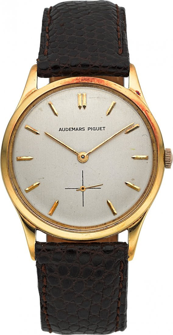 54016: Audemars Piguet 18k Yellow Gold Vintage Wristwat