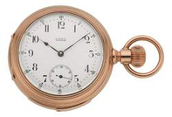 54101 Waltham Fine Gold Five Minute Repeater circa 18
