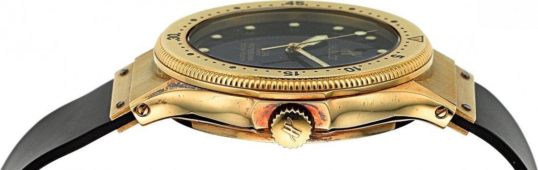54138: Hublot MDM 18K Gold Automatic Professional Divin - 2