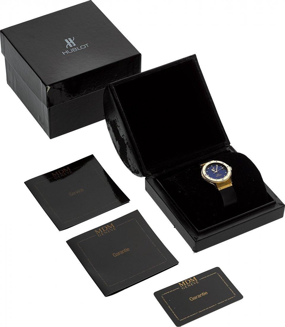 54138: Hublot MDM 18K Gold Automatic Professional Divin - 5