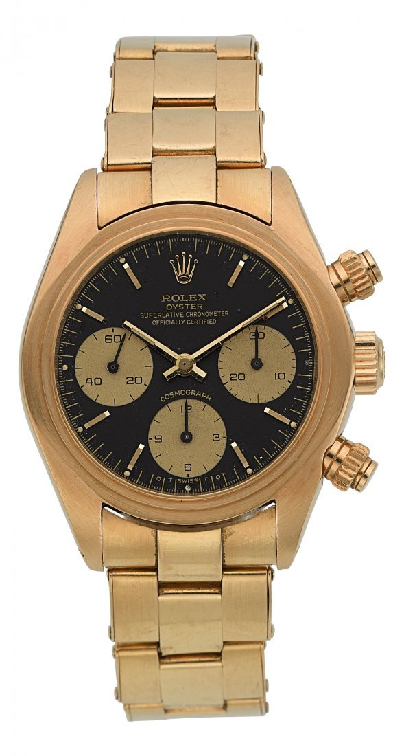 54203: Rolex Ref. 6263 Gold Oyster Superlative Chronome