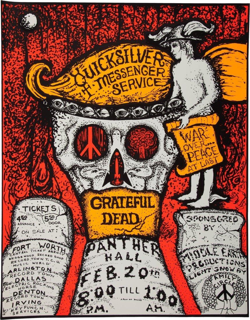 89257: Grateful Dead/Quicksilver Messenger Service Pant