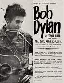 89186: Bob Dylan Concert Handbill (1963). Harry Leventh