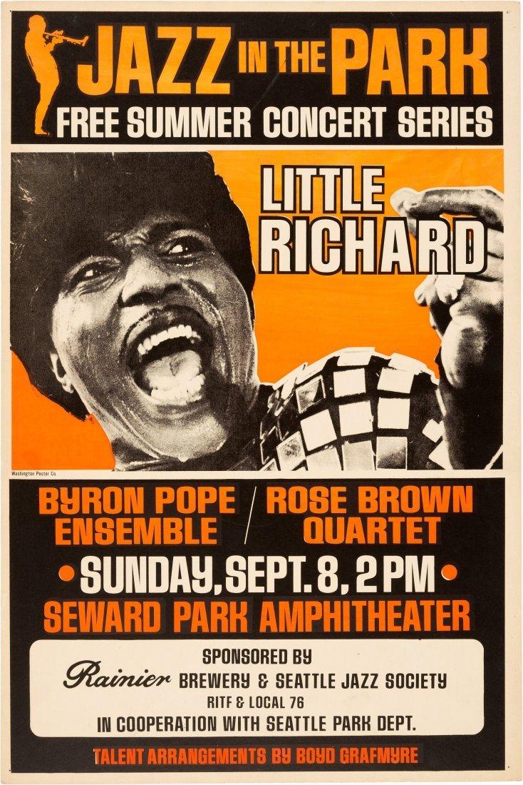 89218: Little Richard Jazz In The Park Concert Poster (