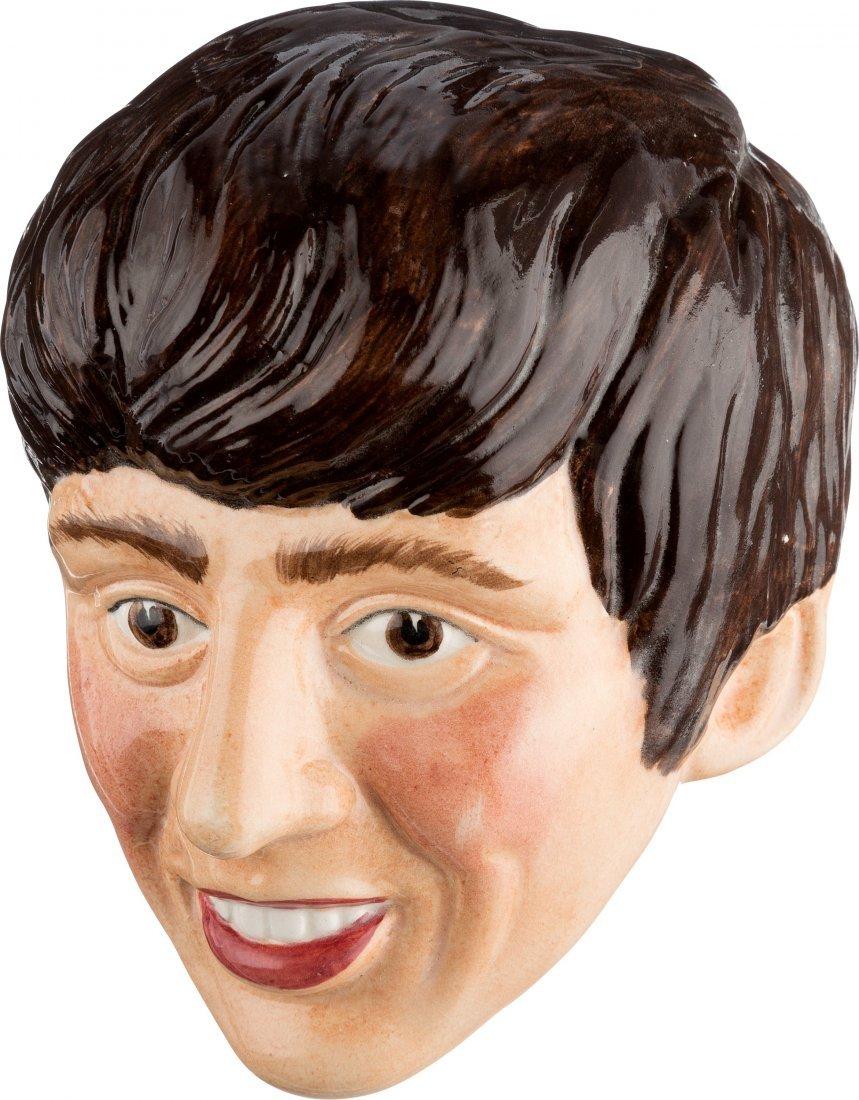 89378: Beatles - George Harrison Ceramic Wall Plaque (U