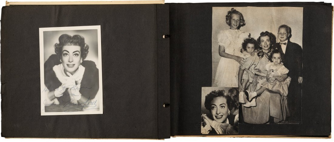 89152: A Joan Crawford Group of Scrapbooks, 1950s. Thre - 2
