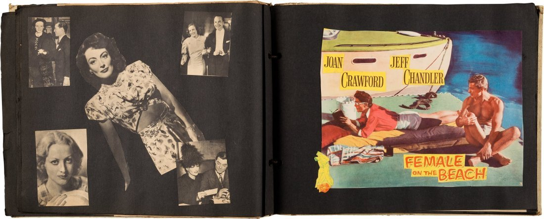 89152: A Joan Crawford Group of Scrapbooks, 1950s. Thre - 3