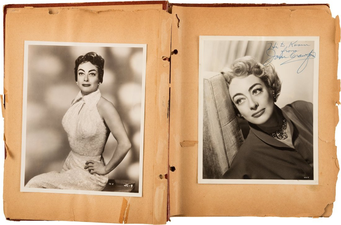 89152: A Joan Crawford Group of Scrapbooks, 1950s. Thre - 4