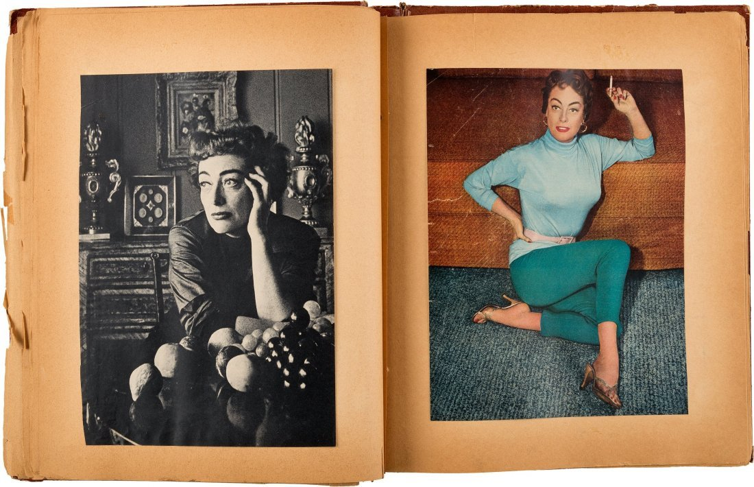 89152: A Joan Crawford Group of Scrapbooks, 1950s. Thre - 5