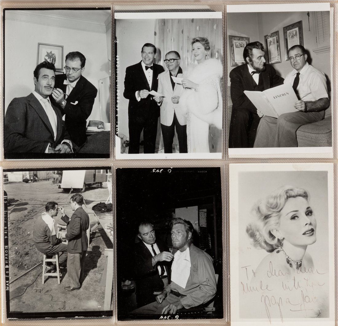 89154: A Photograph Album Filled with Candid Movie Star - 3