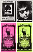 89227 Bob Dylan Isle Of Wight Festival Concert Posters