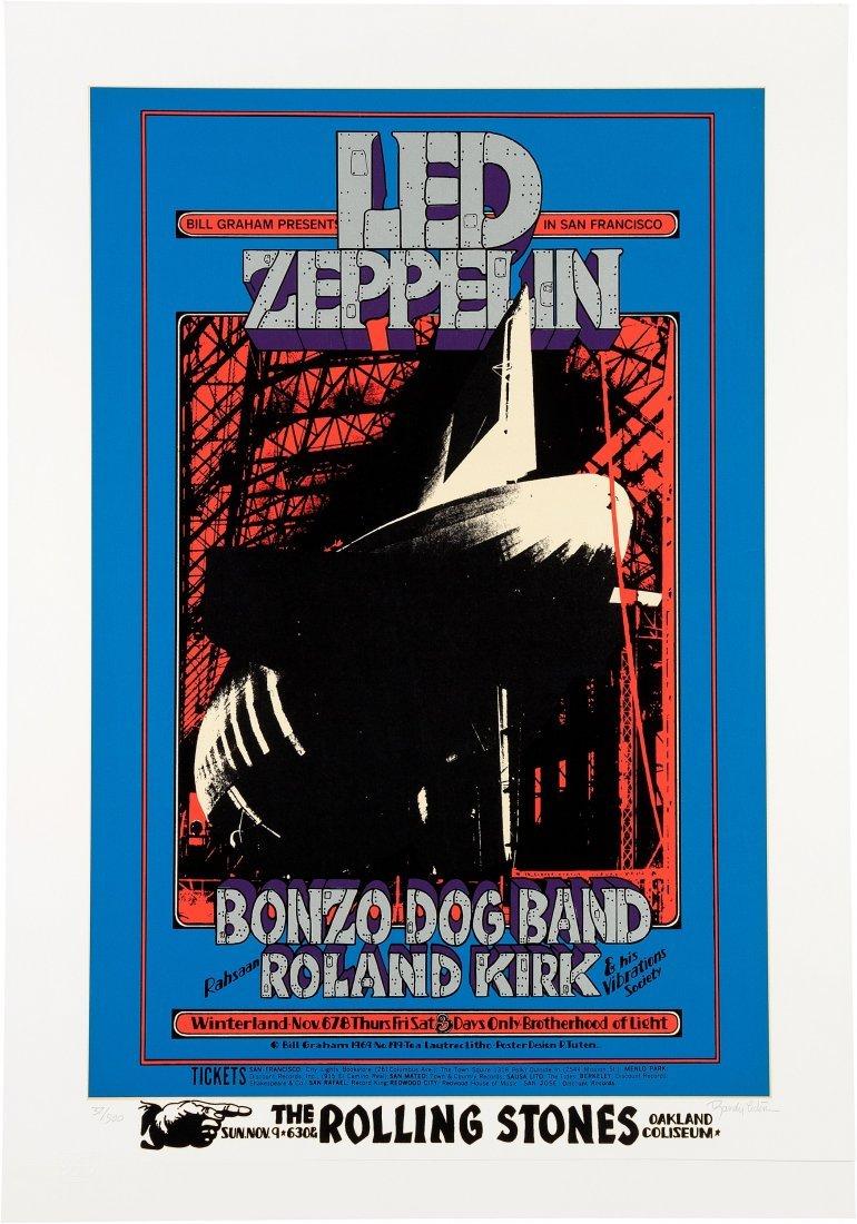 89253: Led Zeppelin/Rolling Stones Oakland Coliseum Con