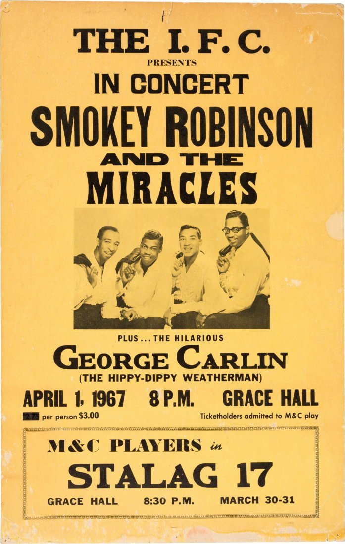89491: Smokey Robinson & the Miracles Grace Hall Concer