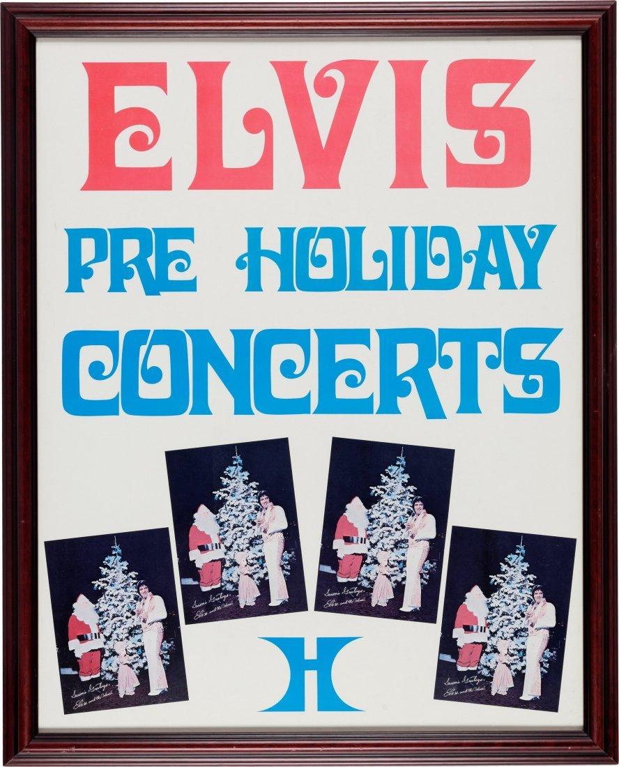 89426: Elvis Presley Pre-Holiday Concert Hilton Las Veg