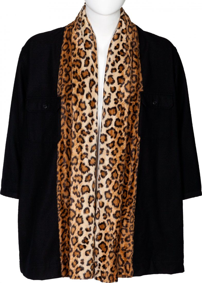 Elton John Worn Yohji Yamamoto Wool Coat (1996).