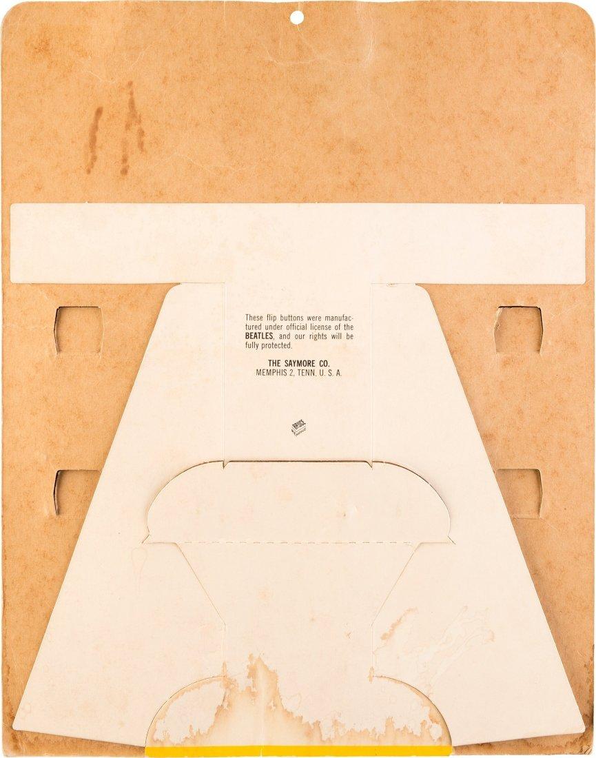 89464: Beatles Original Flasher Buttons Counter Display - 2