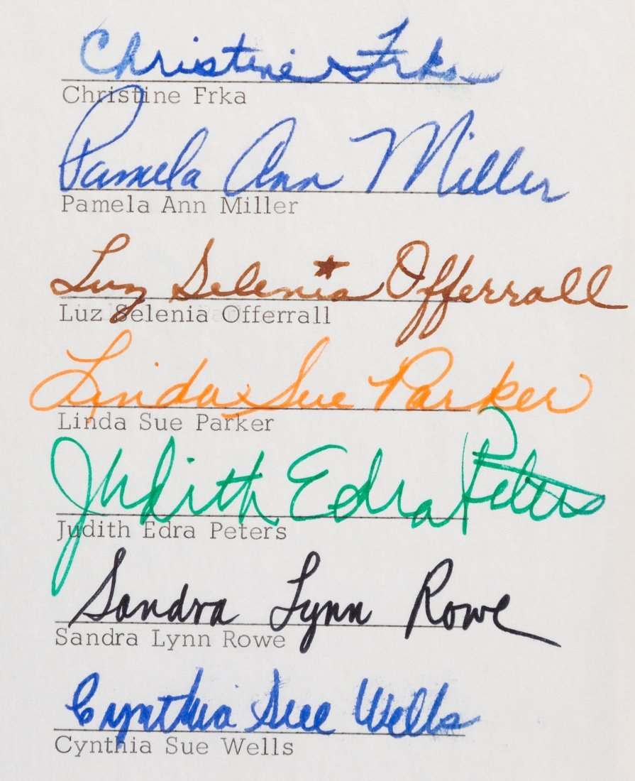 """89565: [Frank Zappa] GTOs Signed Contract (1968). A """"gr - 2"""